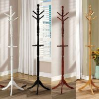 Putnam Classic Office Entryway Hallway Wooden Coat Rack