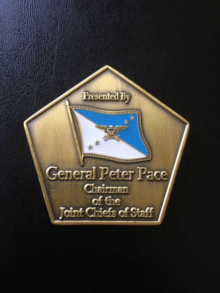 REAL Challenge Coin 16th Chairman Joint Chiefs of Staff