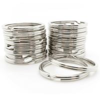 Wholesale 1000pc Key Rings Silver Metal Split Rings 28mm 1