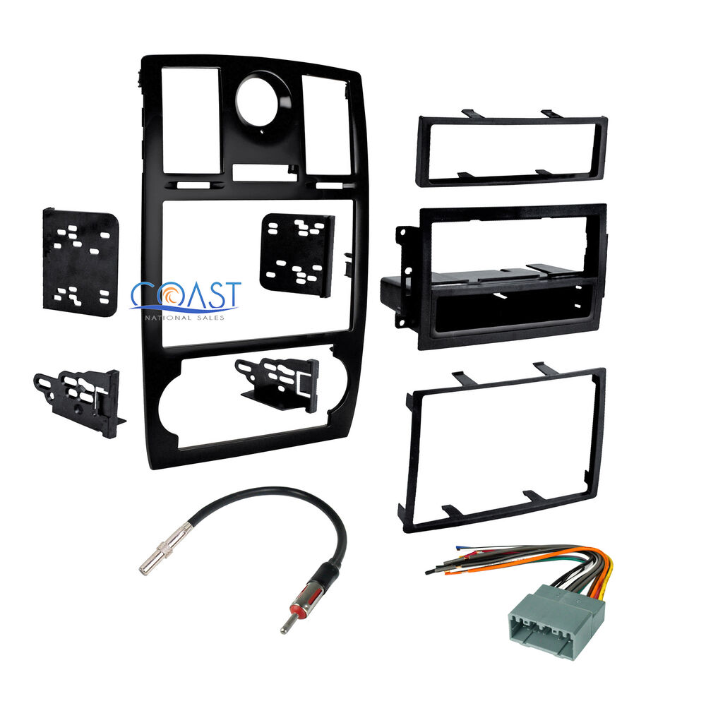 hight resolution of  chrysler pacifica 2004 2008 towing wiring harness car stereo double din dash kit harness antenna