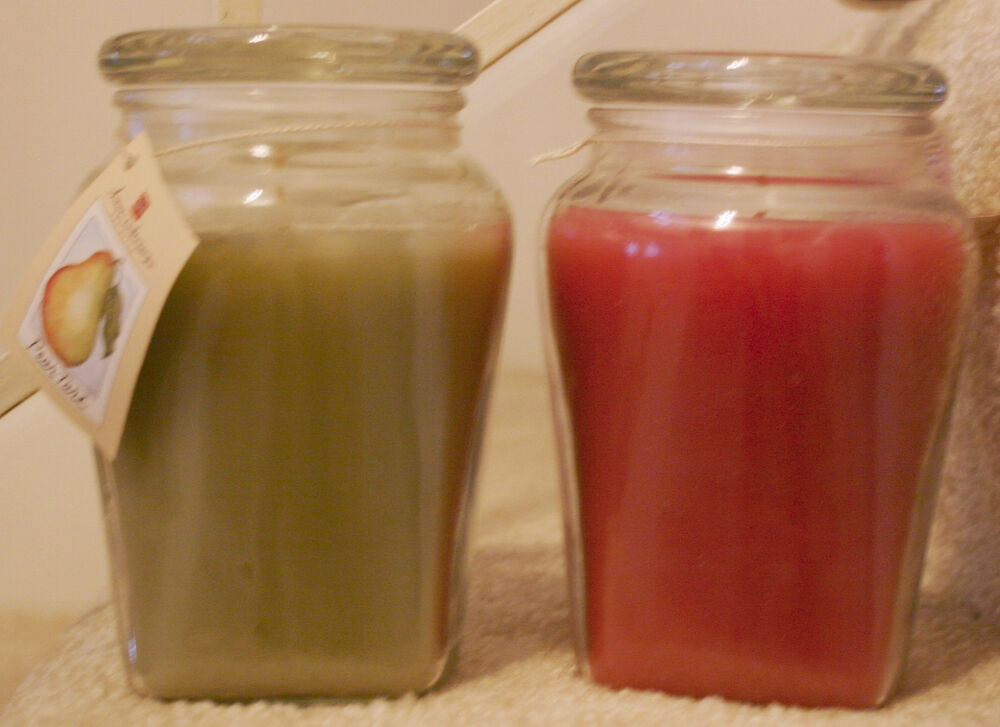 Home Interiors Retired Scents 22 Ounce Ginger Jar Candles EBay