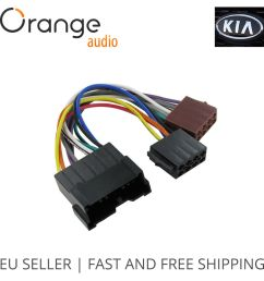 details about wiring harness adapter for kia iso connector stereo plug adaptor type 2 [ 1000 x 1000 Pixel ]