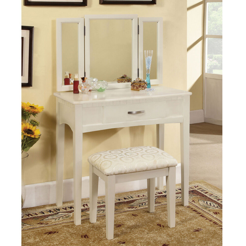 Potterville Makeup Vanity Table Tri