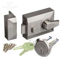 Night Latch Front Door Lock with Standard 60mm Backset ...