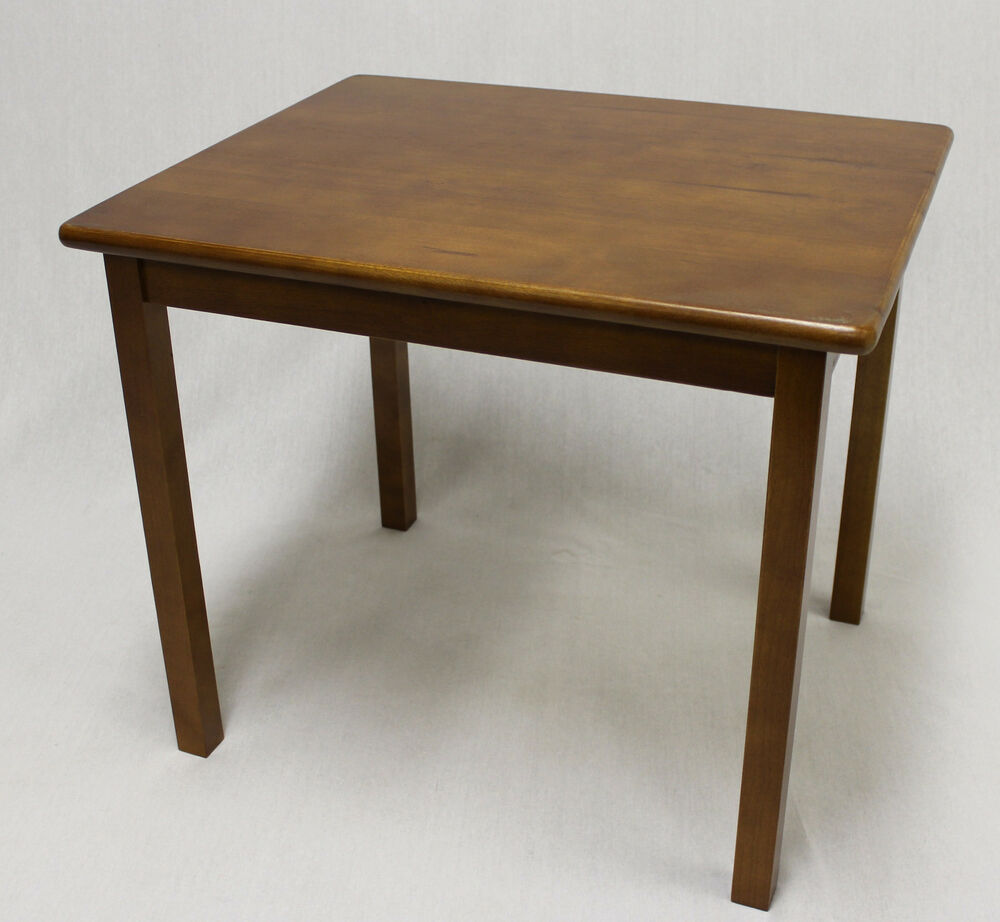 Kids Solid Hard Wood Table in Dark Oak  without chair  eBay