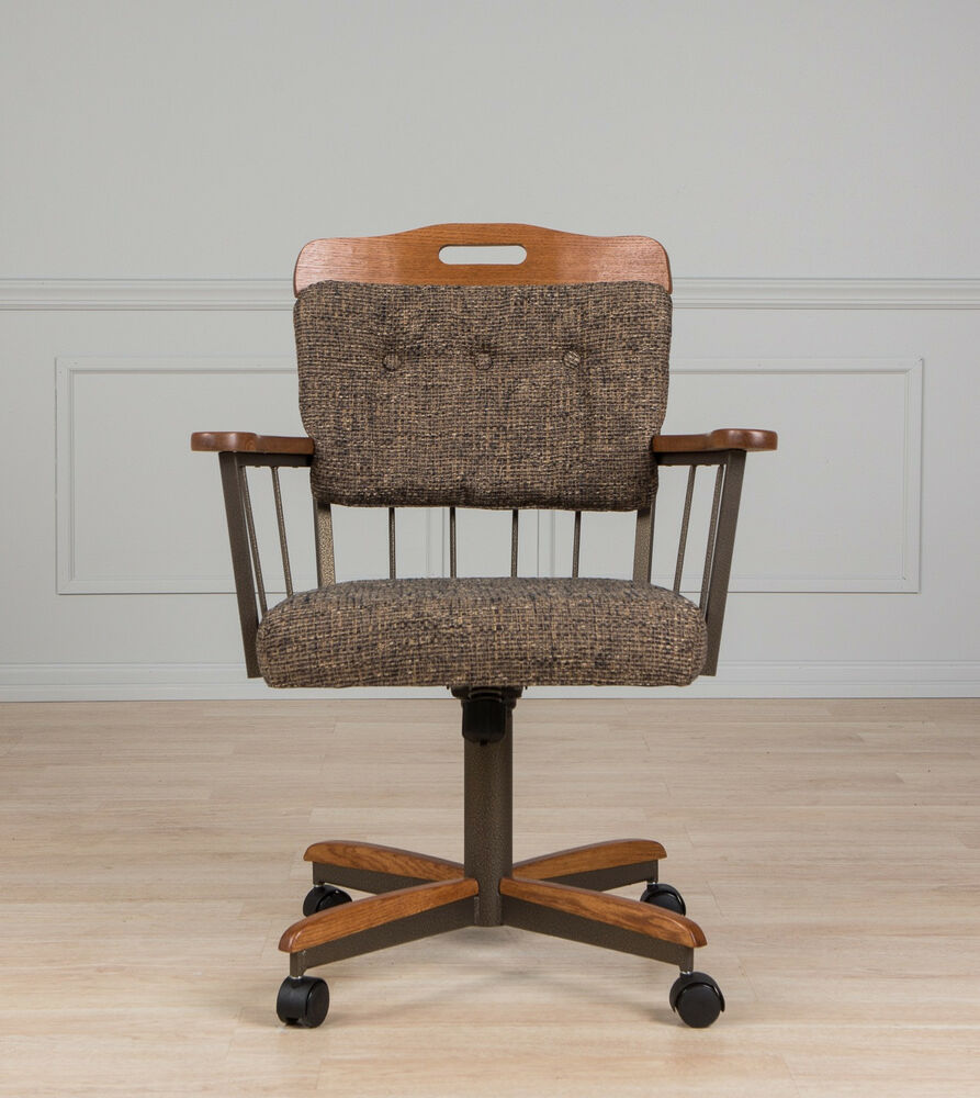 Casual Dining Room Caster Chair