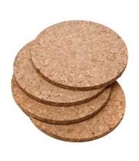 NEW Cork Coasters Round Coaster Drink Coaster Heat Pad Bar