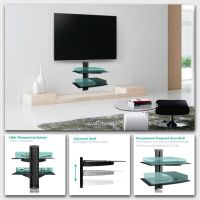 TV Floating Shelf Shelves Stand Wall Mount Console Media