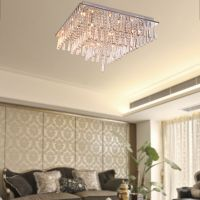 Modern Crystal Ceiling Light Chandelier Flush Mount