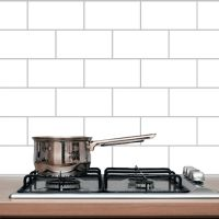 Subway Tile Backsplash - Dining Room & Kitchen Wall Decals ...