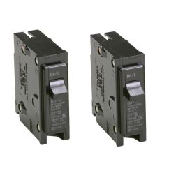 details about 2x eaton 15 amp bryant br trip fuse box single pole light circuit breaker switch [ 1000 x 1000 Pixel ]
