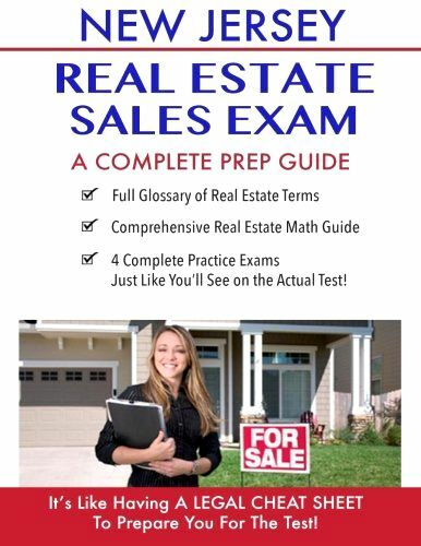 New Jersey Real Estate Exam License Practice Test Questions Prep Guide Book New 1530063493  Ebay