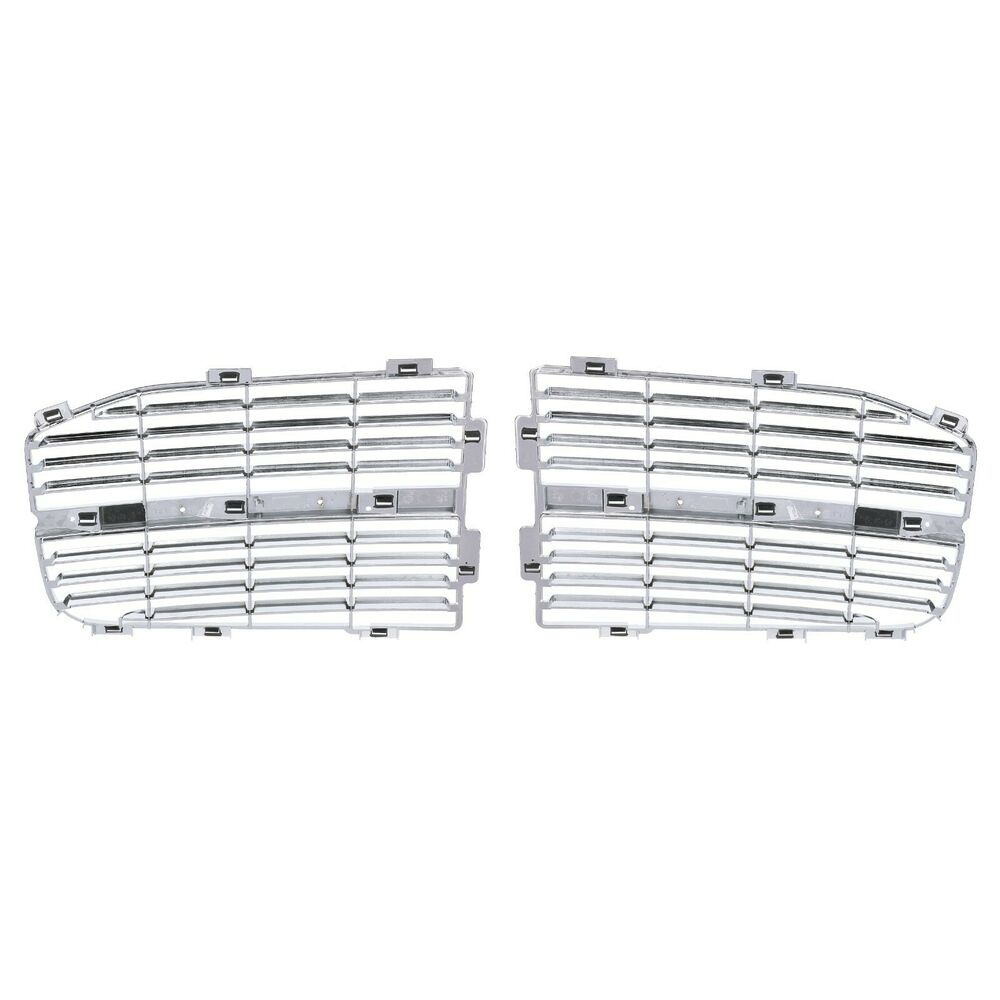 DODGE RAM 1500 2500 3500 CHROME HORIZONTAL GRILLE INSERTS