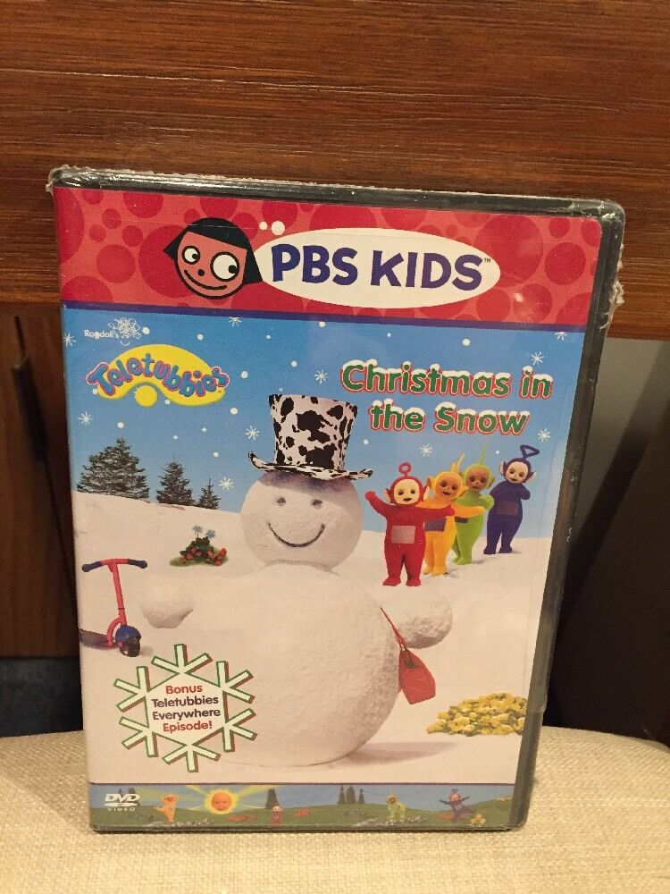 Teletubbies  Christmas in the Snow DVD 2003 Mfg