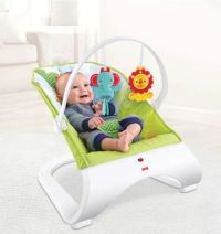 Fisher-Price Rainforest Friends Comfort Curve Baby Bouncer ...