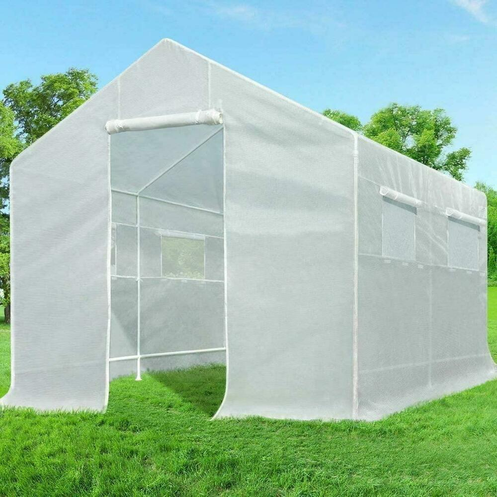 Quictent Portable Greenhouse Large Green Garden Hot House