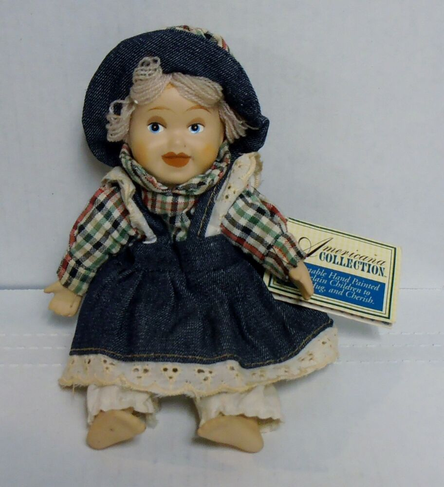 Goffa Americana Collection Lucy 8 Porcelain Doll Hand Painted BRAND NEW  eBay