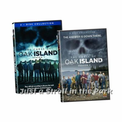 The Curse of Oak Island: TV Series Complete Seasons 1 & 2 ...