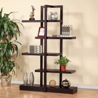 Contemporary Living Room Accent Display Stand Cabinet ...