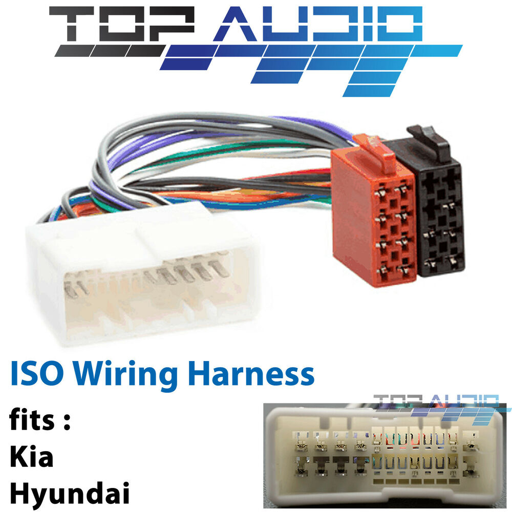 hight resolution of details about fit kia rio jb iso wiring harness adaptor cable connector lead loom plug wire