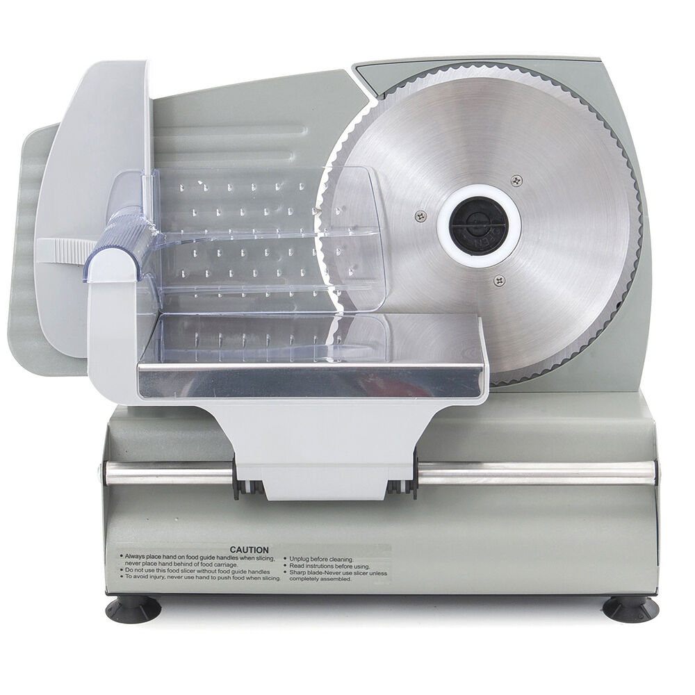 Electric Stainless Steel Deli Meat Slicer Vegetable Home
