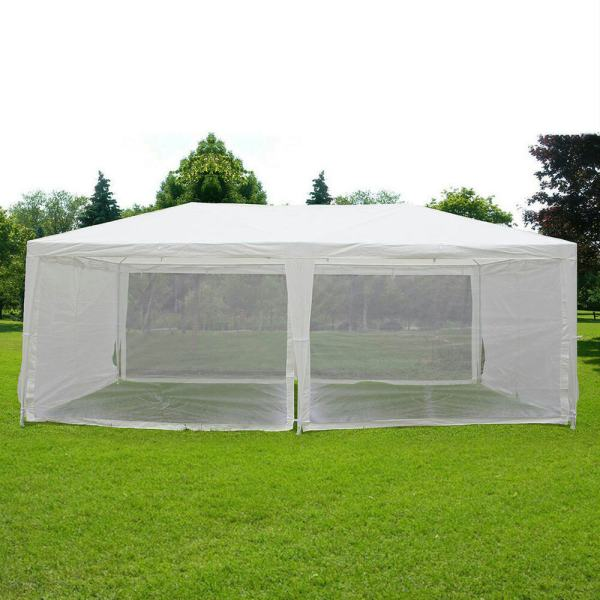 Quictent 10x20 Canopy Gazebo Party Wedding Tent Screen