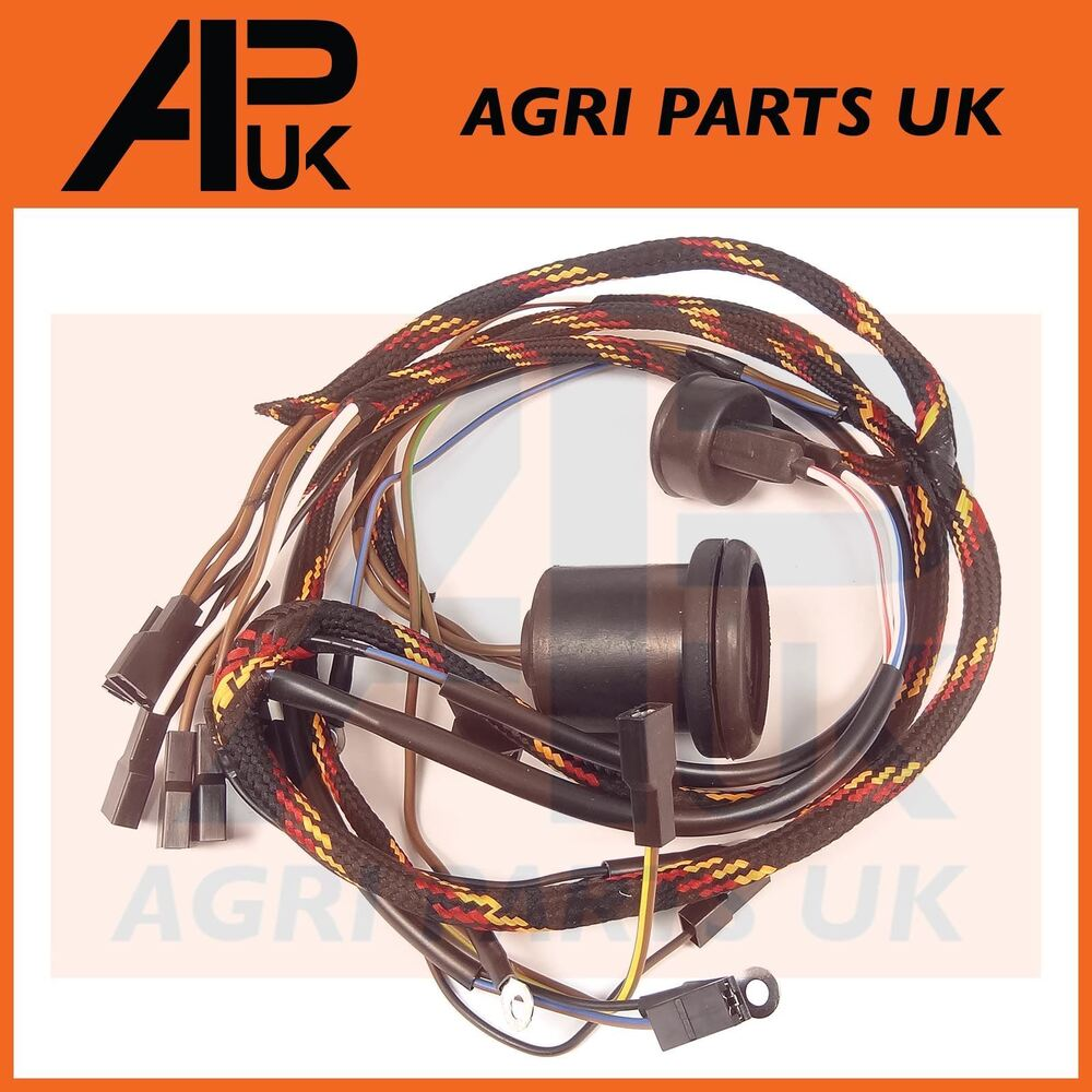 hight resolution of details about massey ferguson 135 tractor wiring loom harness ad3 152 perkins with dynamo