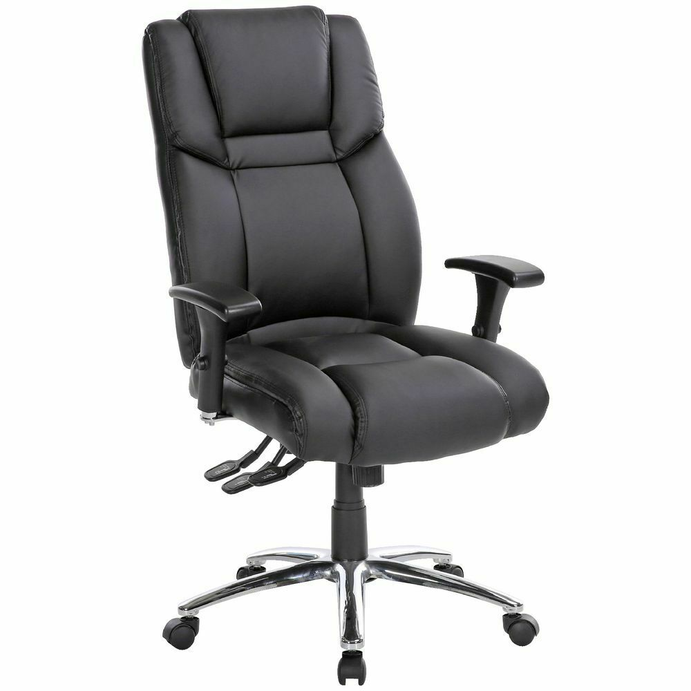 Washington Ergonomic Chair Black  eBay