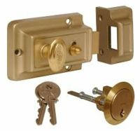 Front Door Lock Nightlatch Rim Type Cylinder Standard ...