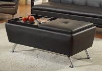 Modern Living Cocktail Coffee Table Ottoman Flip Over ...