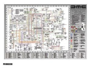 DMC  DeLorean Wiring Diagram LG | eBay