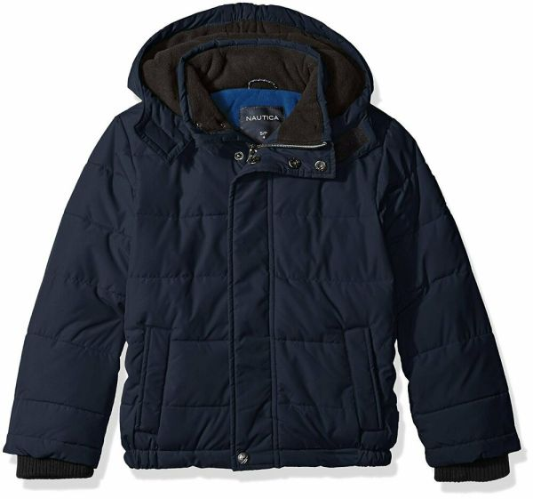 Nautica Toddler Boys' Signature Bubble Jacket With Storm
