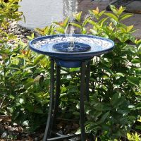 Floating Solar Powered Pond Garden Water Pump Fountain ...