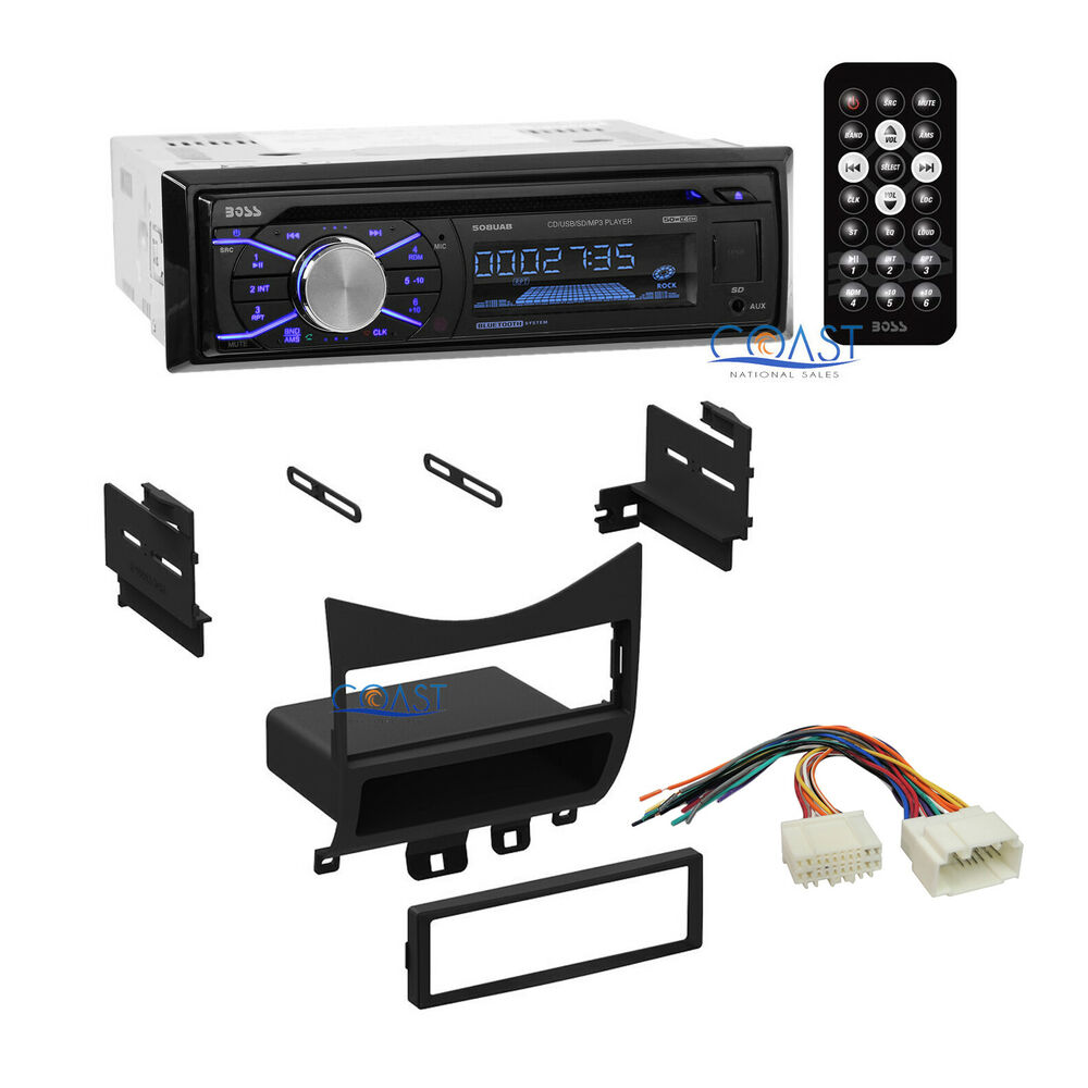 medium resolution of boss car radio stereo bluetooth dash kit wire harness for boss bv9560b wiring harness boss stereo