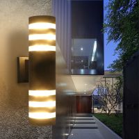 Outdoor Modern Exterior LED Wall Light Sconce Fixtures ...