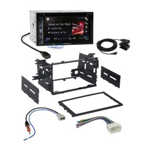 Pioneer 2016 Radio Stereo Double DIN Dash Kit Wire Harness