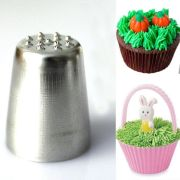 grass hair icing piping nozzle
