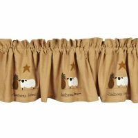 New Primitive Country Cotton WELCOME HOME Sheep Star ...