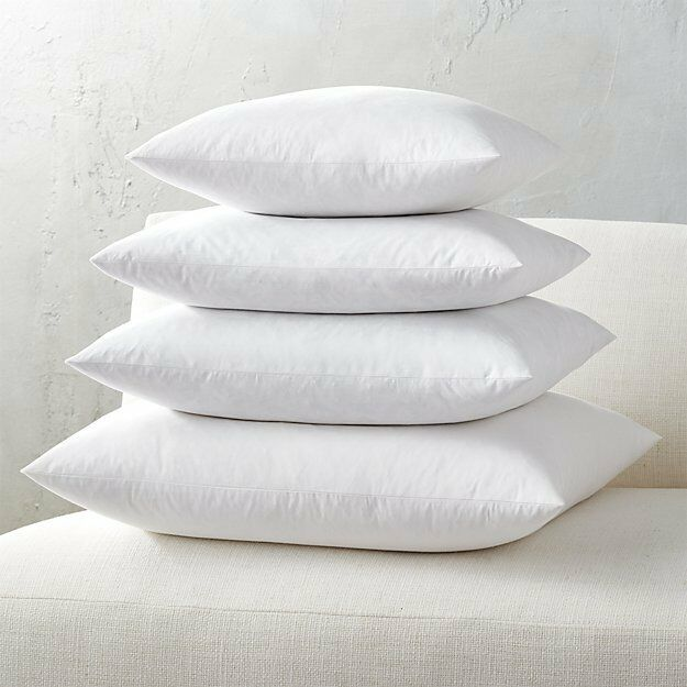 Euro Square Pillow Insert FEATHER DOWN Inner Cushion