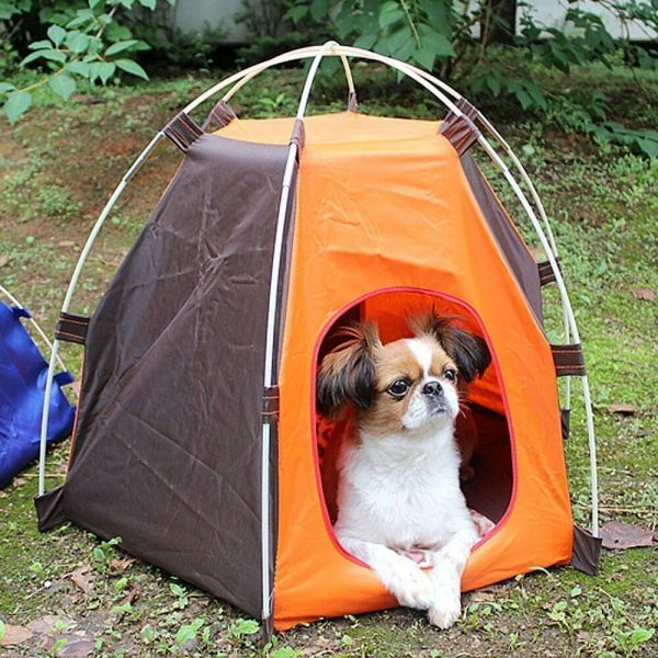 Waterproof Portable Folding Pet Tent Dogs Cats Bed Puppy
