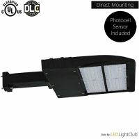 LED Parking Lot Shoebox Pole Light Fixture with Photocell ...