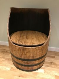 Wooden Barrel Chair Oak Barrel Chairs Solid Wood With A ...