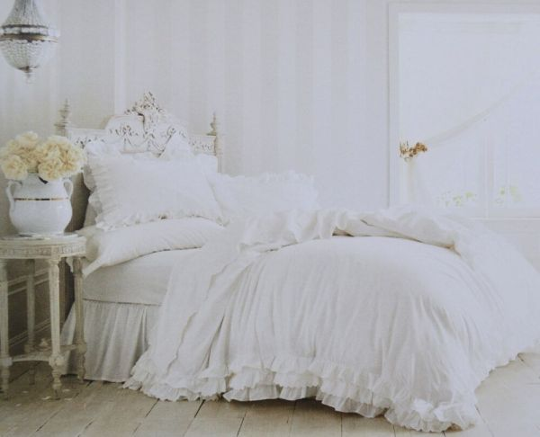 Simply Shabby Chic White Duvet