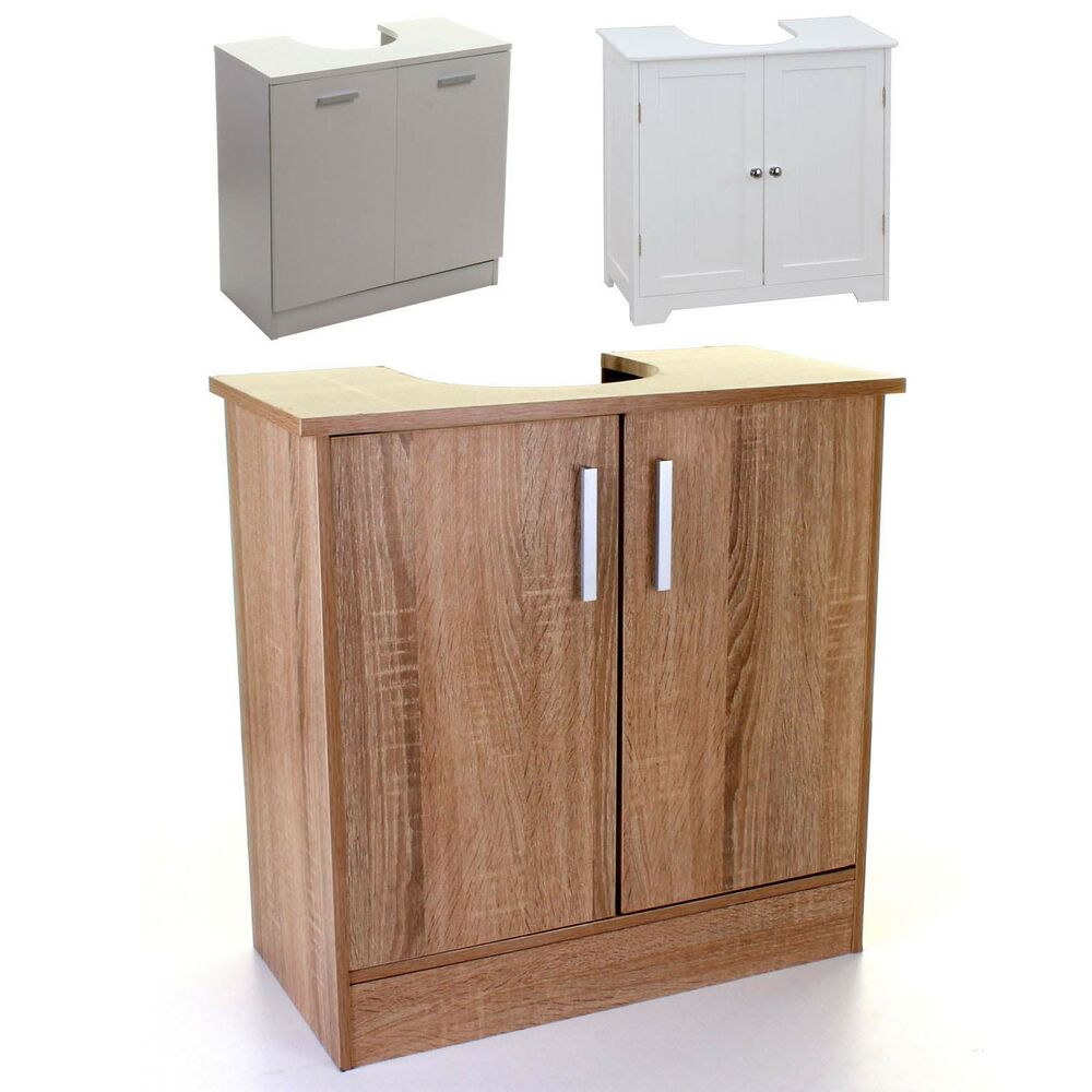 UNDER SINK CABINET BASIN STORAGE UNIT CUPBOARD BATHROOM