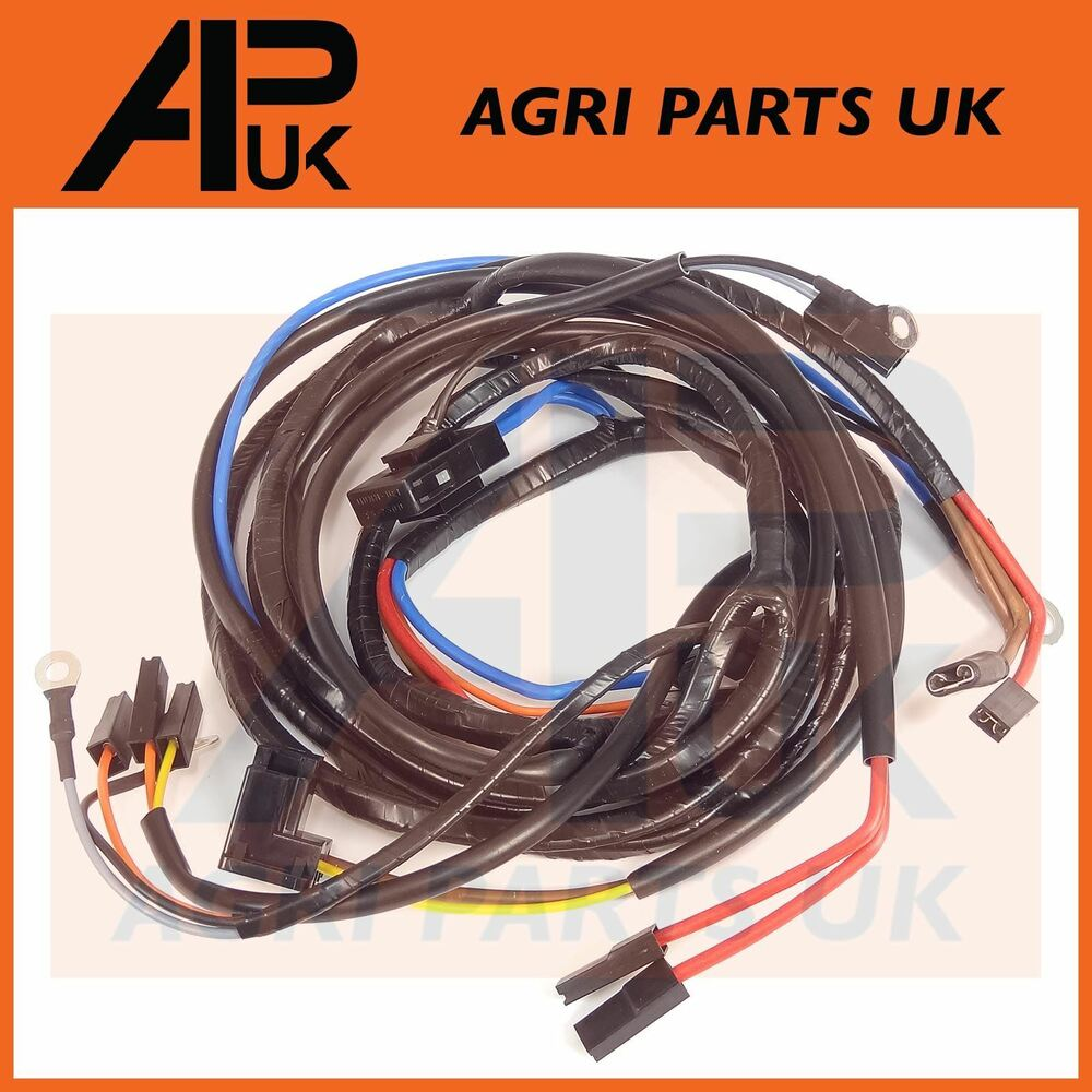 medium resolution of details about massey ferguson 165 168 178 185 188 tractor wiring harness loom alternator type