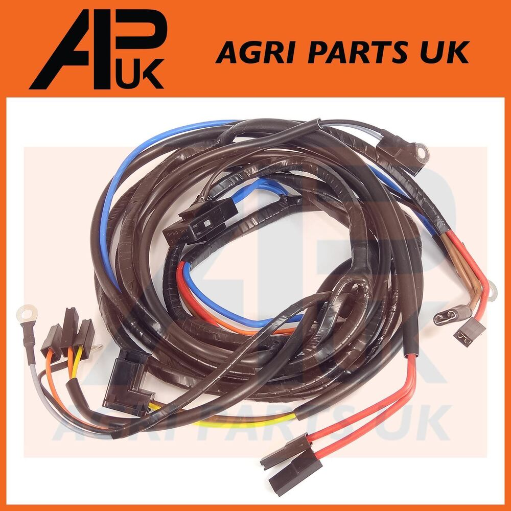 hight resolution of details about massey ferguson 165 168 178 185 188 tractor wiring harness loom alternator type