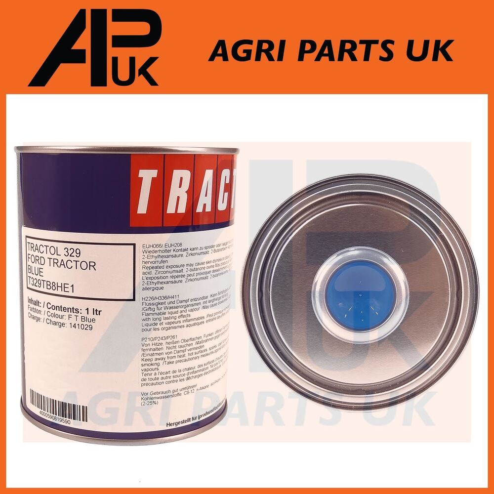 medium resolution of details about 1 litre tractol ford new holland tractor blue paint 3000 4000 4600 5000 5610