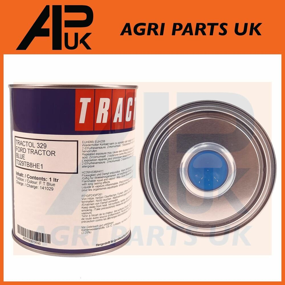 hight resolution of details about 1 litre tractol ford new holland tractor blue paint 3000 4000 4600 5000 5610