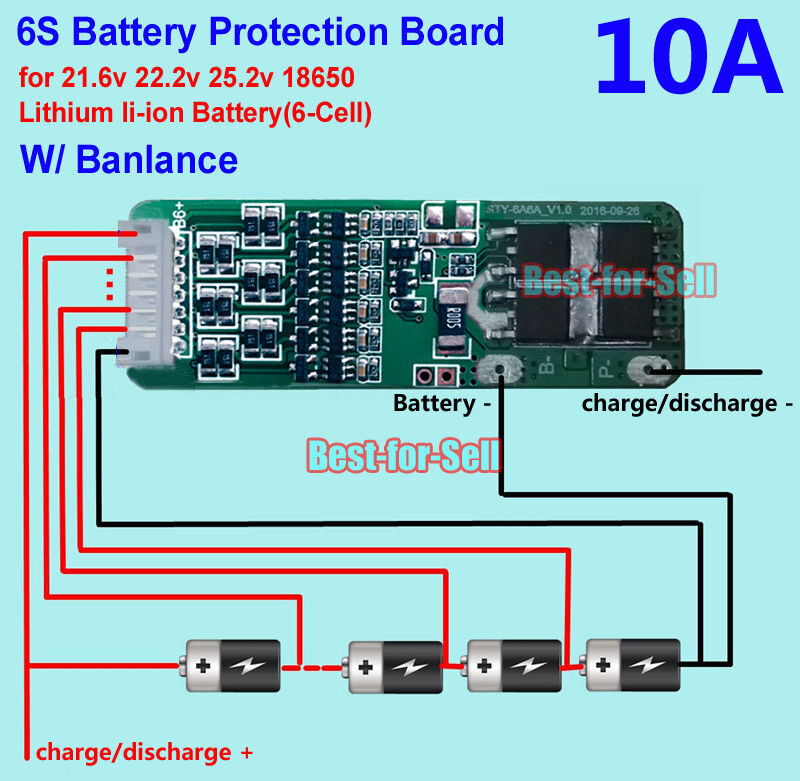 4s bms wiring diagram hunter ceiling fan 24v great installation of connecting a charge only esk8 electronics electric rh skateboard builders panel