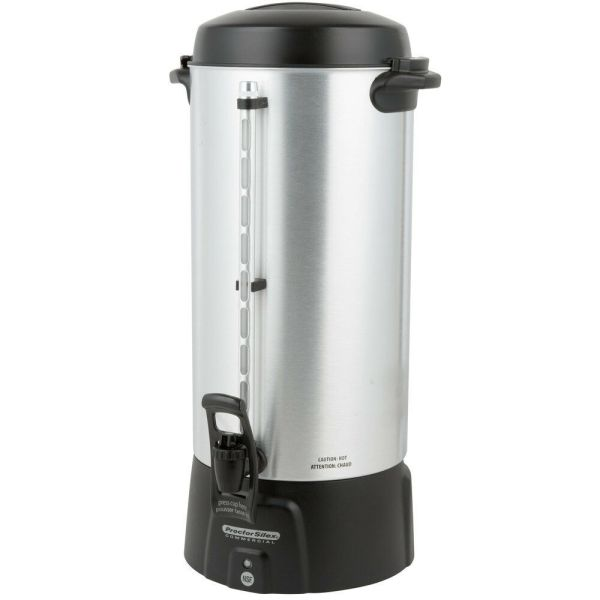 100 Cup Aluminum Coffee Urn 3.9 Gallon Commercial Restaurant Church